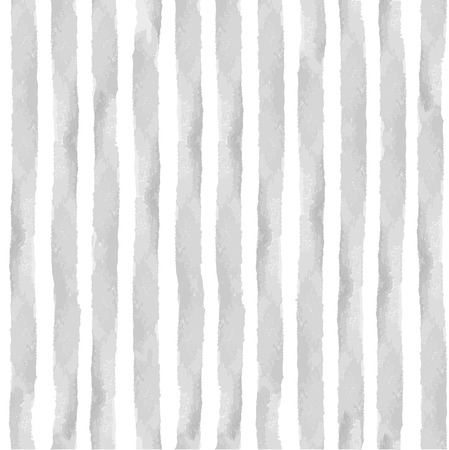 gray strip backdrop: Watercolor seamless pattern with grey  vertical strips.Cute vintage Hand drawing painting background .For Backdrop,background,fabric,Wallpaper.Vector Illustration