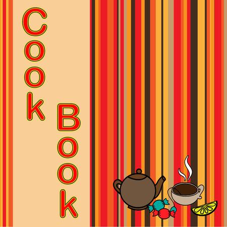 cook book: Cook book design,vector illustration