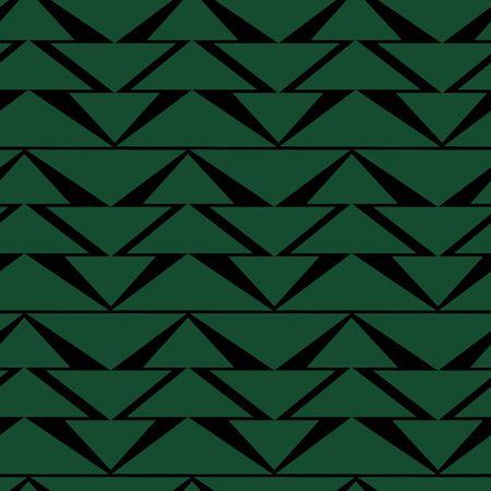 firtrees: Fir-trees seamless pattern. Christmas background