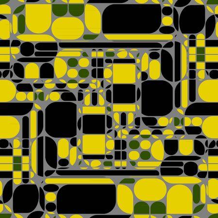 Seamless geometric pattern. Vector illustration. 矢量图像