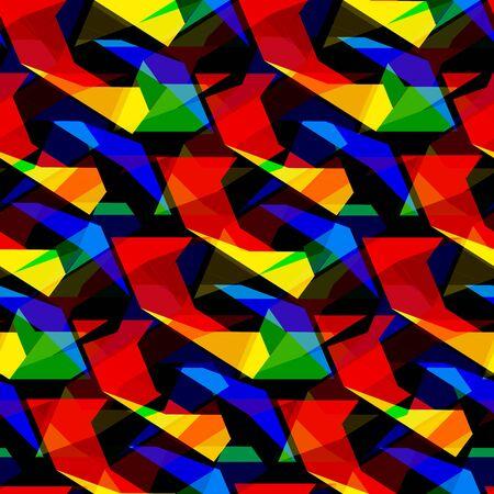 pentagon: Seamless vector pentagon background
