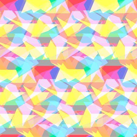 pentagon: Seamless pentagon background Illustration