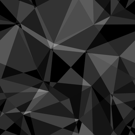 Black and white abstract background polygon 矢量图像