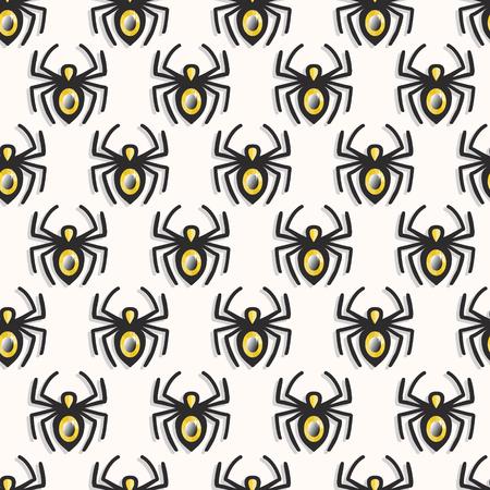 Vector spiders seamless pattern 矢量图像