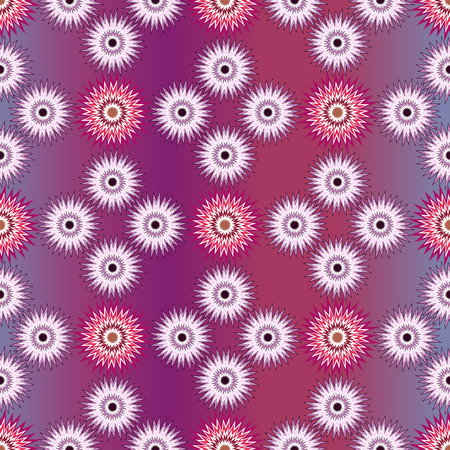 jitter: Wrapper background, seamless vector pattern for christmas. Cushion, pillow, bandanna, silk kerchief or shawl fabric print. Texture for clothes and bedclothes Illustration