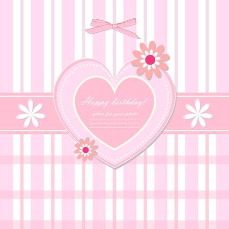 아기의 아름다운 카드