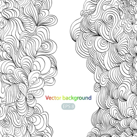 hand draw: background With a space for your text