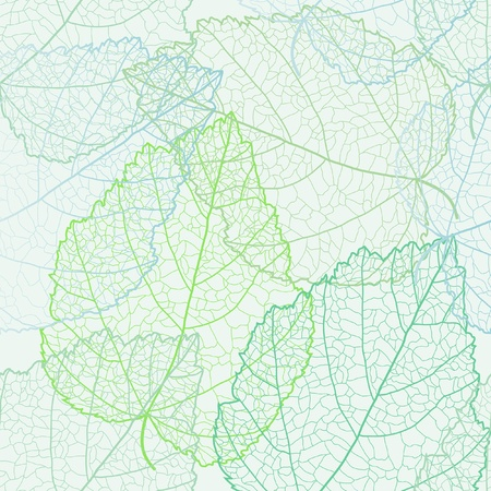 sceleton: Autumnal seamless for card