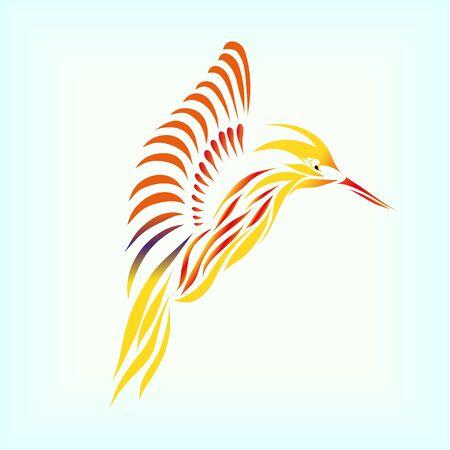 Perfect hummingbird (eps 10)  Vector