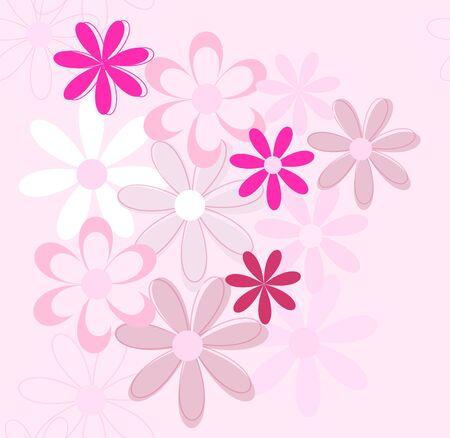 Seamless flower background Stock Vector - 14298533