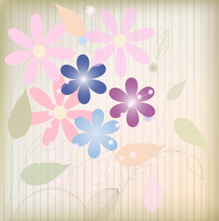 Flower background  Stock Vector - 14378665