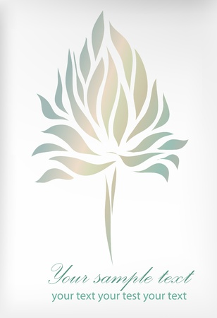Vintage gold isolated on floral background with your text. Perfect for sign, symbol, icon, label, emblem, web Stock Vector - 14387878