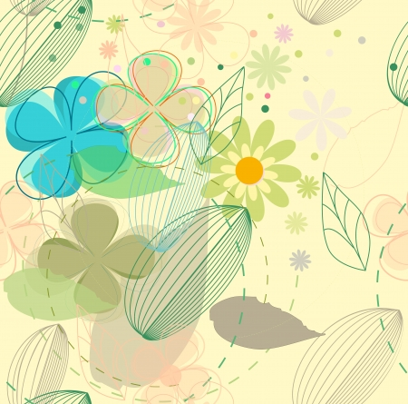 Flower background  Stock Vector - 14387879