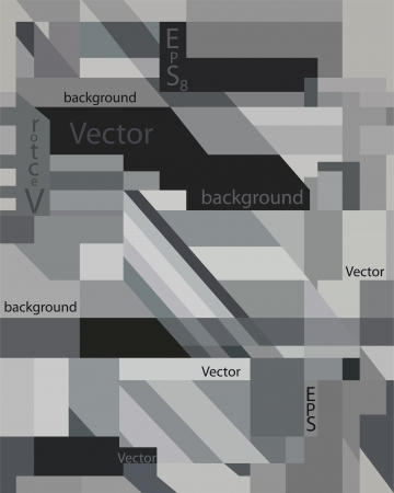 eps 8: Vector grey abstract art background eps 8