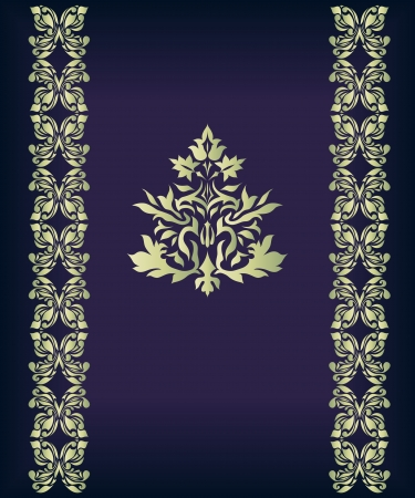 flair: Vintage Ornament isolated on background