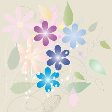 Nature background with text for background Vector