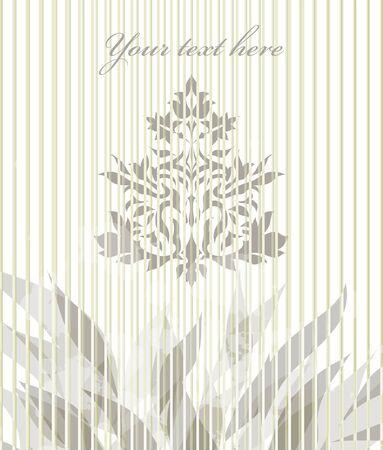 Vintage grey illustration isolated on white background. Perfect for element design, web, sign, symbol, icon, logotype, logo, emblem, label   Vector