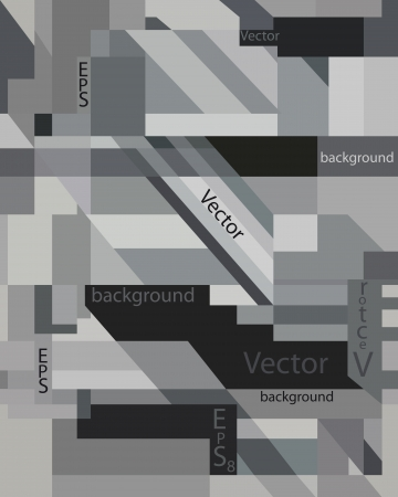 artwork painting: Abstract monochrome techno background texture