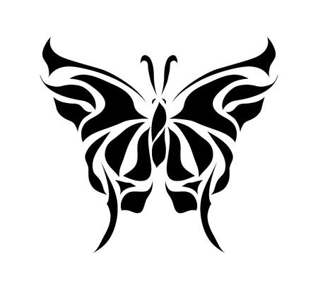 Retro floral background vector mariposa eps 8
