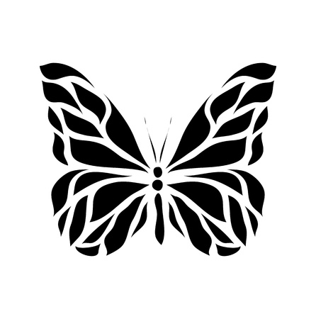 butterfly vector: Retro floral butterfly background vector eps 8