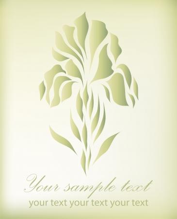 Vintage retro flower blossom vector eps 10 Vector
