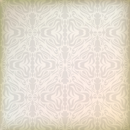 Vintage damask ornament background  Vector
