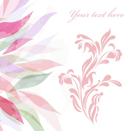 Vintage retro flower blossom Stock Vector - 15274013