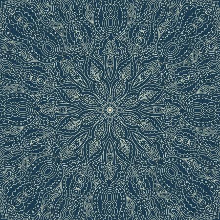 Swirl beautiful lace ornament Stock Vector - 16537850