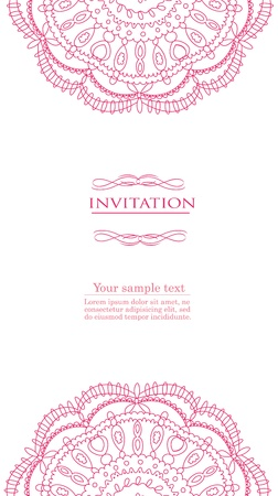Vintage red background for invitation, backdrop, card, new year brochure, banner, border, wallpaper, template, texture vector eps 8 Stock Vector - 17612601