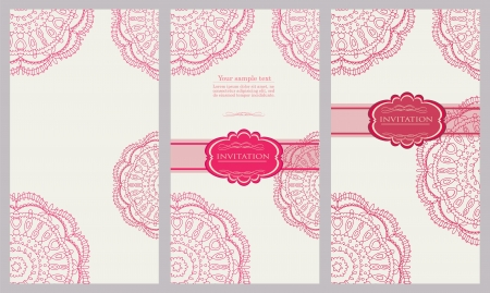 Vintage red background for invitation, backdrop, card, new year brochure, banner, border, wallpaper, template, texture vector eps 10 Stock Vector - 17612710