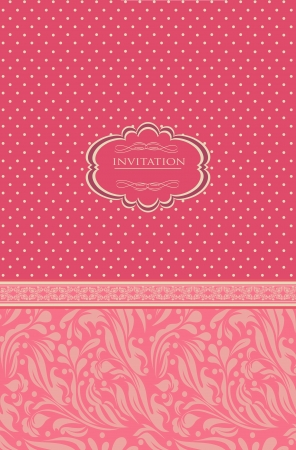 vector vintage red background for invitation backdrop card new year brochure banner border wallpaper template texture vector eps 10