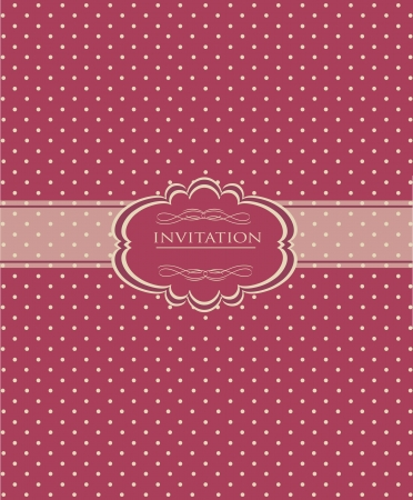 Vintage red background for invitation, backdrop, card, new year brochure, banner, border, wallpaper, template, texture vector eps 10 Illustration