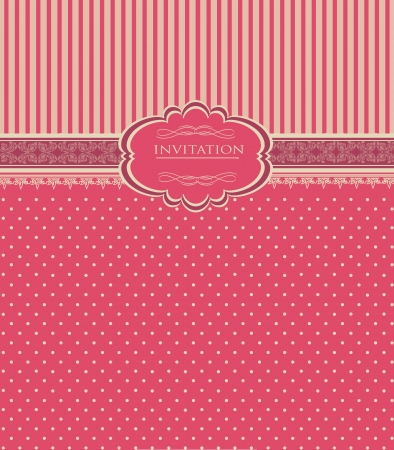 Vintage red background for invitation, backdrop, card, new year brochure, banner, border, wallpaper, template, texture vector eps 10 Vector