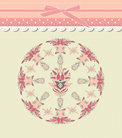 Vintage background for invitation, backdrop, card, new year brochure, banner, border, wallpaper, template, texture vector eps 8 Stock Vector - 17754659