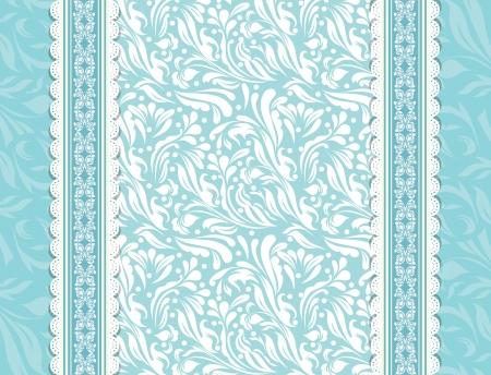 background flowers: Vintage blue background for invitation, backdrop, card, new year brochure, banner, border, wallpaper, template, texture vector eps 10 Illustration