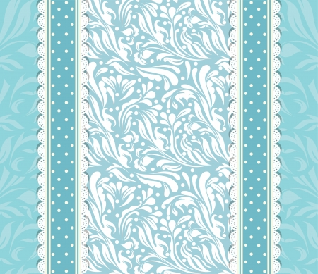 Vintage blue background for invitation, backdrop, card, new year brochure, banner, border, wallpaper, template, texture vector eps 10 Stock Vector - 17754654