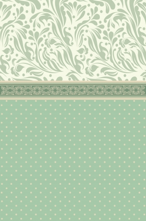 Vintage background for invitation Vector