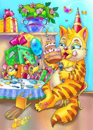 happy birhday party photo