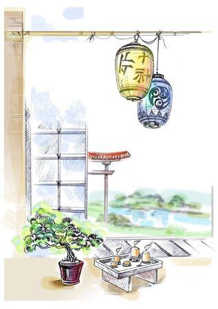 JAPANESE INTERIOR photo