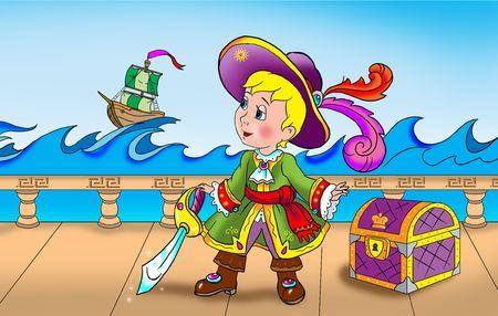 hijack: Pirate captain