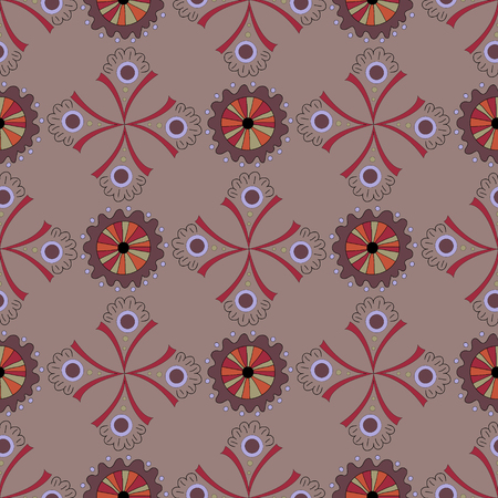 Amazing seamless pattern a green background.