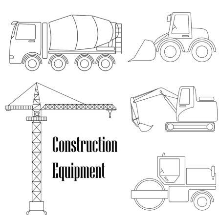 A set of design elements for construction.