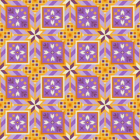 Lovely geometrical seamless pattern in the Bulgarian style.
