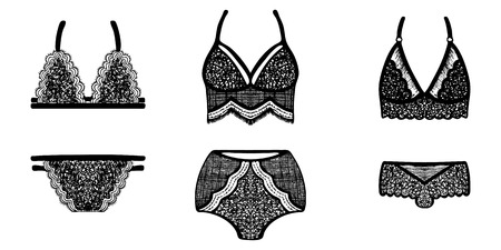 6eda0f76bc6b 1,152 Laces Panties Stock Illustrations, Cliparts And Royalty Free ...