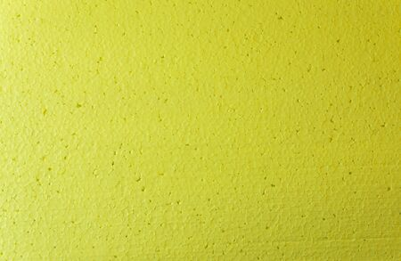 Yellow foam abstract background. Template with space for text.