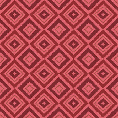 Seamless pattern with geometric elements in tribal style. Prehistoric drawings. 矢量图像