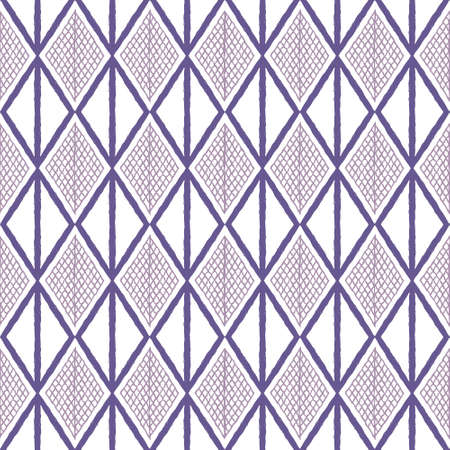 Seamless pattern with geometric elements in tribal style. Prehistoric drawings.