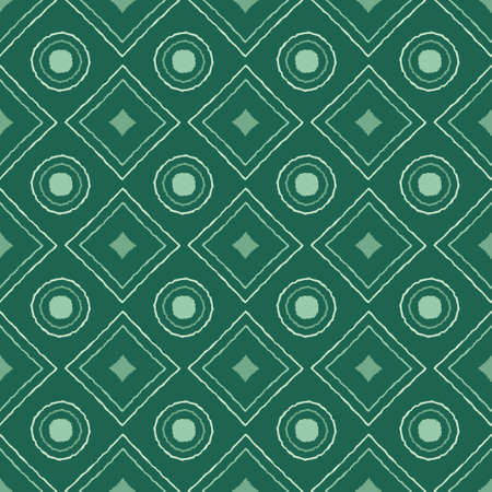 Seamless pattern with geometric elements in tribal style. Prehistoric drawings. Ilustración de vector