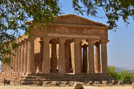 agrigento: View of the Temple of Concordia - Agrigento - Sicily - Italy