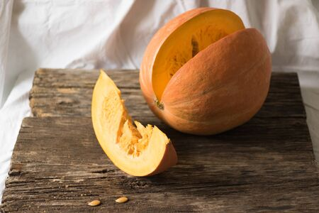Pumpkin is a source of vitamins and minerals. Proper nutrition is the key to health and longevity.